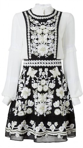Comino Couture Butterfly Pinafore Dress 51mIZ