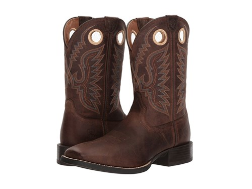 Ariat Sport Ranger Roasted Brown Cowboy Boots SuMdgky