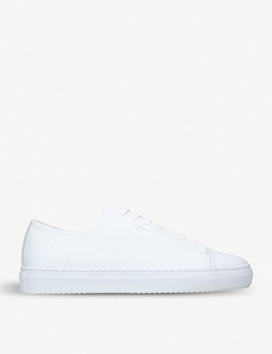 Axel Arigato Toecap Leather Trainers White DOTHwPy