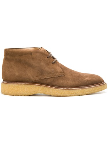 Tod's Lace Up Desert Boots Brown BiRLG6gE2h