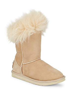 Australia Luxe Collective Foxy Shearling Boots Mortar cZq7KWtd