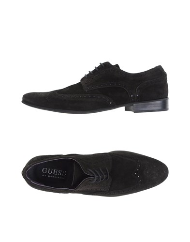 GUESS by Marciano Lace Up Shoes Dark Brown 7C1J3zoG1