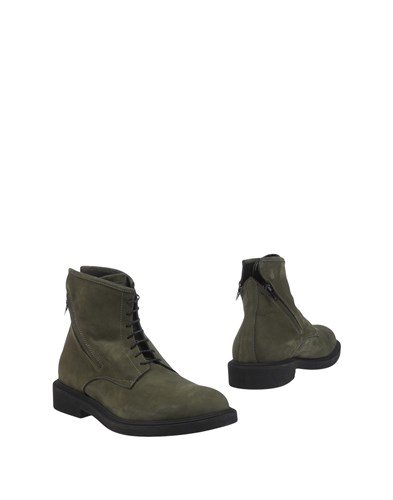 Bruno Bordese Ankle Boots Military Green cGZZotpjk9