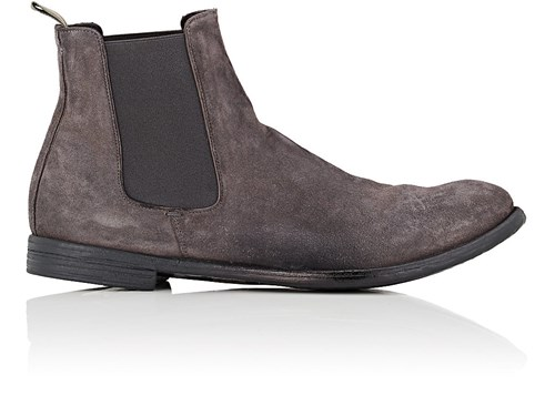 Gray Creative Officine Chelsea Boots Suede Washed UPUa6wqX