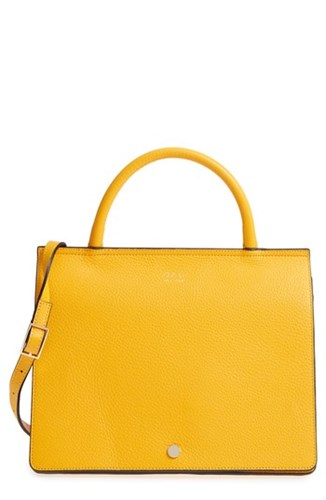 OAD NEW YORK Prism Convertible Satchel Yellow Sun Yellow xsyOoyNH