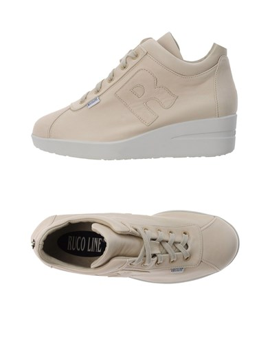Ruco Ivory Ruco Line Line Sneakers Sneakers EncBq4p6