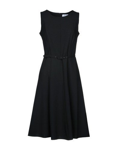 MAIOCCI Knee Length Dresses Black boYc9