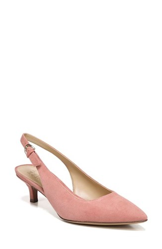 Naturalizer 'S Peyton Slingback Pump Pink Leather Xaummz