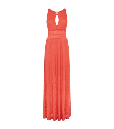 M Missoni Keyhole Maxi Dress Pink WH7kdopJJ