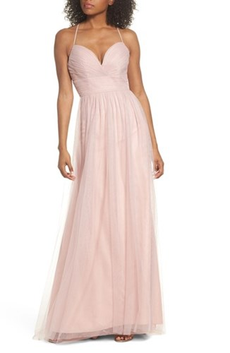 Hayley Paige Occasions 'S English Net Gown Dusty Rose hs77O