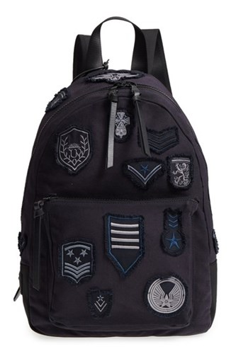 John Varvatos Collection Gibson Patch Backpack Blue Midnight tRVoDe