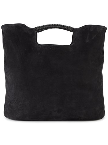 Simon Miller Birch Tote Women Suede One Size Black HO6a5