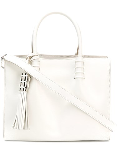 Tod's Small Lady Moc Tote White tBBfY
