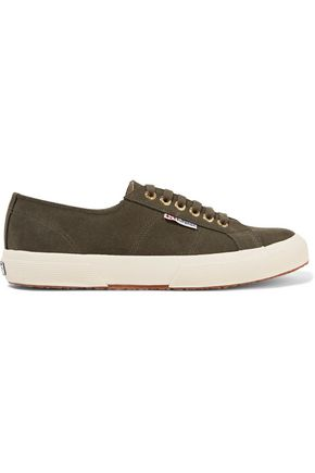 Superga Suede Sneakers Army Green R91fS