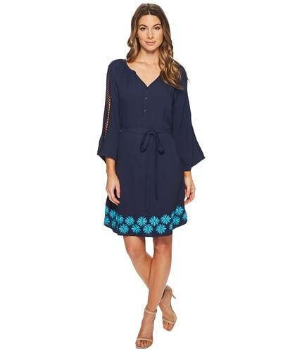 Hatley Hayley Dress Twilight Solstice Navy uWWxJ59