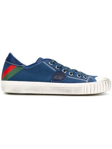 Philippe Model Ridged Sole Sneakers Blue 5QiAGH8RDQ