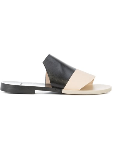 Pierre Hardy Diagonal Sandals Black QKBZW