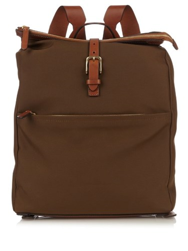 M S Express Waterproof Backpack Light Brown