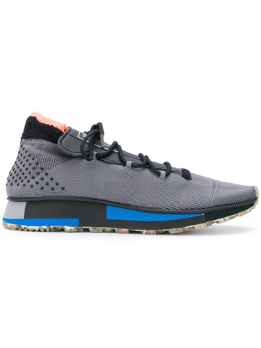 Adidas by Alexander Wang Originals Run Sneakers Polyester Rubber Grey 9s18YPxH