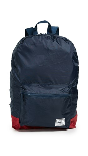 Herschel Supply Co. Packable Daypack Backpack Navy Red WNHDnY5Bz