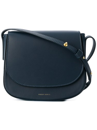 Mansur Gavriel Mini Crossbody Bag Blue ZroSXD
