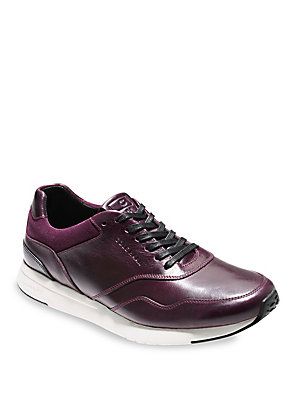 Cole Haan Grandpro Leather Sneakers Malbec anO5jRNwe