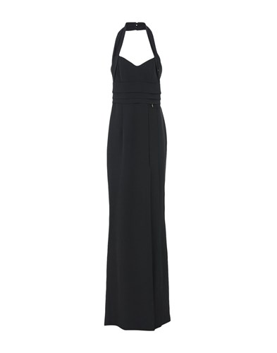 Mangano Long Dresses Black BJqsf5sW
