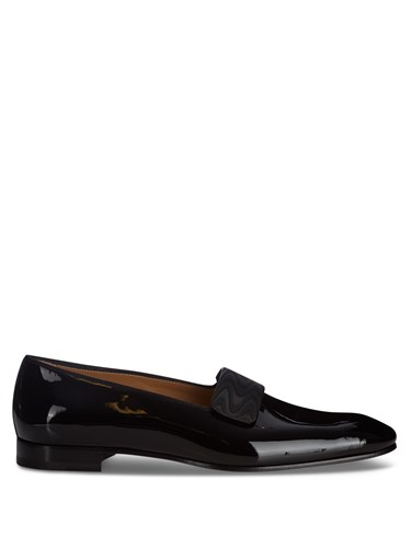 Christian Louboutin Vittorio Patent Leather Loafers Black iCwTEq
