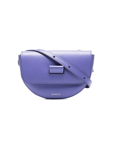 Pink Anna Purple Bag Leather And Belt Lilac Wandler Xa5AqA