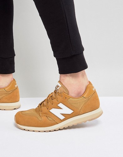 New Balance 520 Suede Trainers In Tan U520bf Tan UdpTiPGG