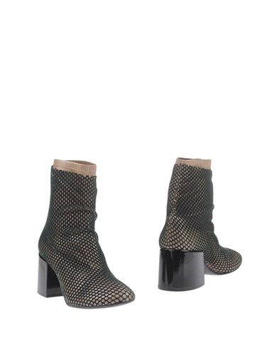 Maison Martin Margiela Mm6 By Ankle Boots Dark Green oyyjK