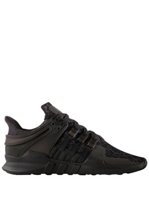 adidas Eqt Support Advance Lace Up Sneakers Black 2Tc5s
