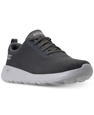 Charcoal Precision From Wide Max Sneakers Men's Line Skechers Casual Gowalk Finish f7qwUvwxg
