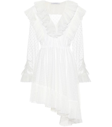 White Lorenzo di Tulle Dress Serafini Philosophy wXqapTp