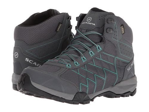 Scarpa Hydrogen Hike Gtx Iron Grey Lagoon Shoes Gray GfPtJClFwY