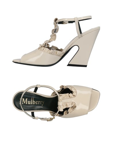 Mulberry Sandals Ivory pXVo3