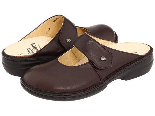 Stanford Comfort Clog Finn 2552 Leather Shoes Kaffee Senegal Brown P5qwdqT