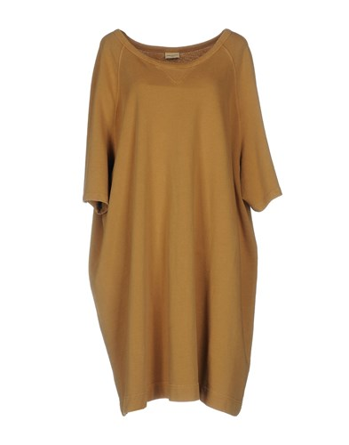 Dries Van Noten Knee Length Dresses Camel T9bQHJr6
