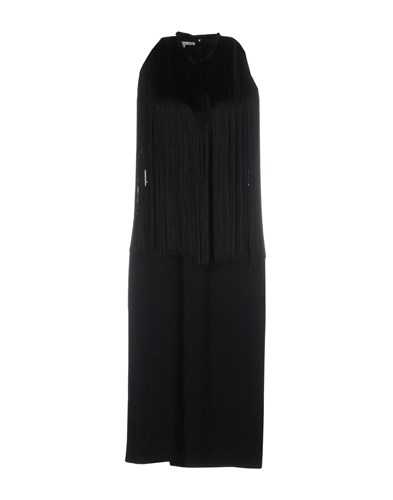 Stella McCartney Knee Length Dresses Black Y3Kij9C5