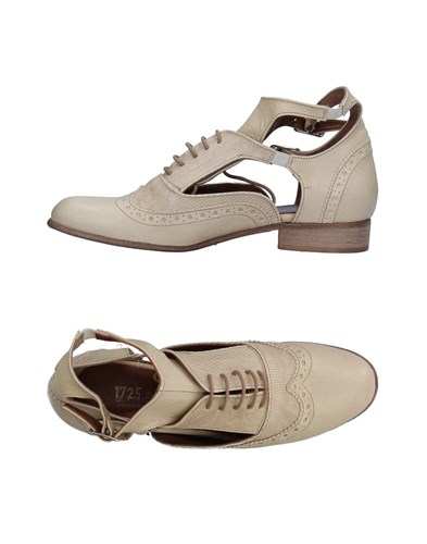 Shoes Footwear Up Beige 1725 A Lace SzxIv