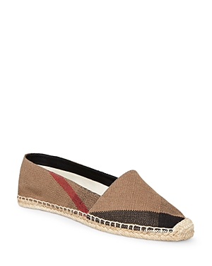Burberry Women's Hodgeson House Check Espadrille Flats Classic Check cRm4Y