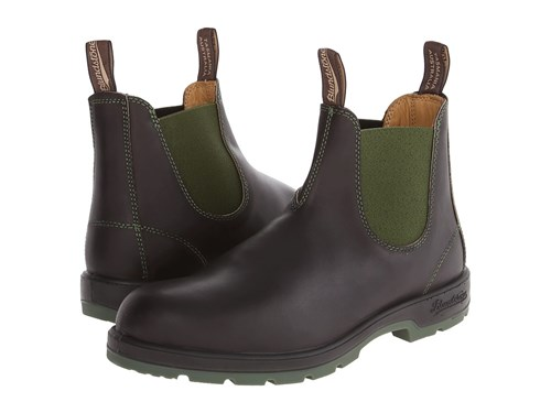 Blundstone 1402 Brown Olive Pull On Boots nKhFx
