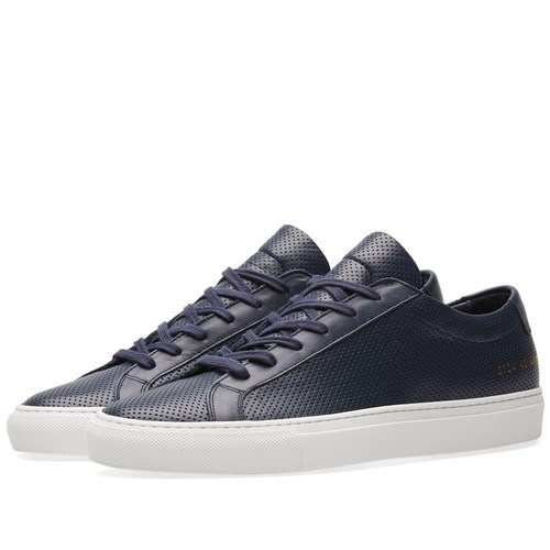Common Projects Achilles Low Perforated Blue XGSj9