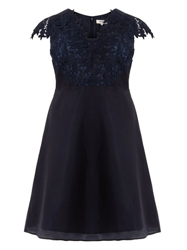 Studio 8 Eliza Dress Blue 5SRcjtX