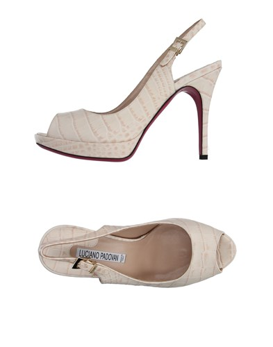 Luciano Padovan Sandals Ivory Padovan Luciano HxBwHr