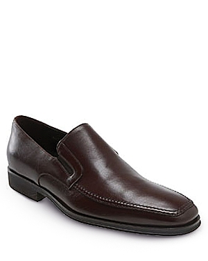 Bruno Magli Raging Slip On Loafers Dark Brown BXJYo0q0