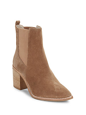 Kenneth Cole Quinley Suede Ankle Boots Tan ee3F6B9P