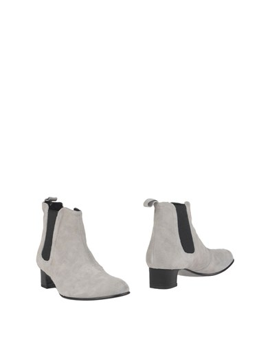 Never.ever Never Ever Ankle Boots Light Grey vXp3lFl