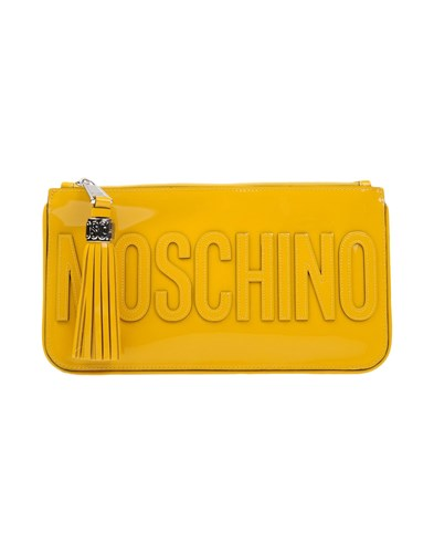 Moschino Handbags Yellow sR5vaOO