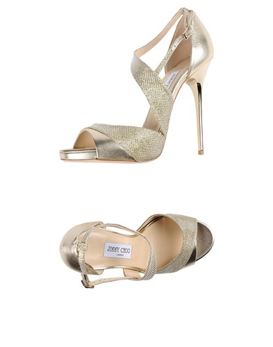Jimmy Choo Sandals Gold 2sdUn7G